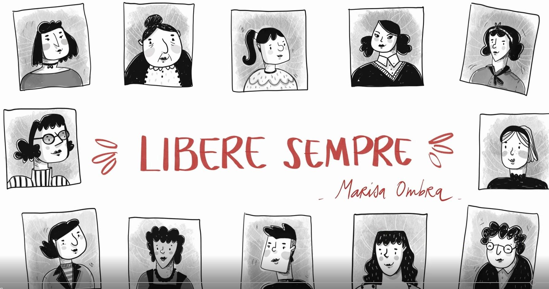 """Al cinema, in casa, con Venere 50! """"Libere sempre"""": il video-omaggio alle partigiane."""