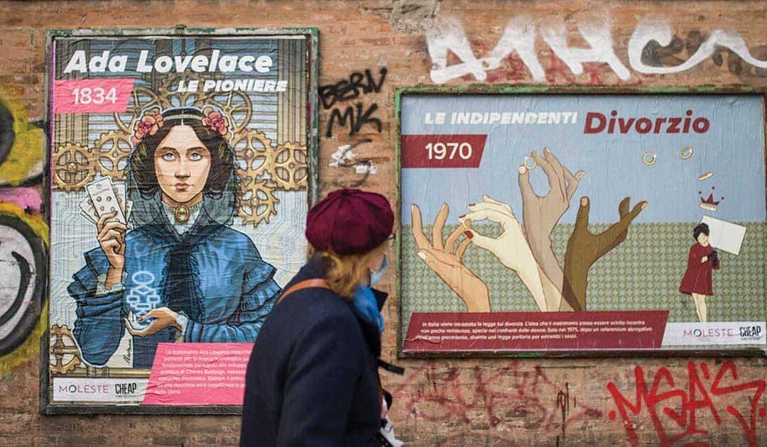 I diritti delle donne in 11 manifesti